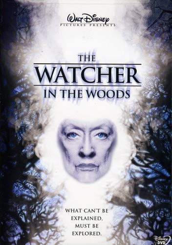 spooky disney halloween movies, the watcher in the woods, bette davis