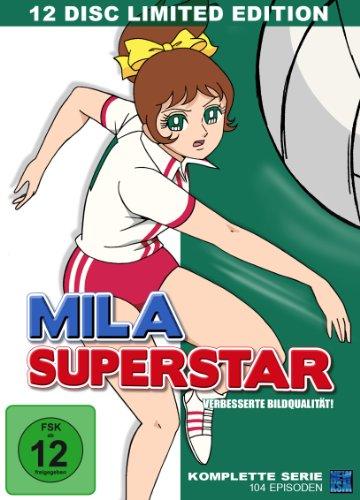 Mila Superstar - Die komplette Serie (Episoden 1-104) [12 DVDs] [Limited Edition]