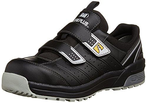 [ミドリ安全] 安全作業靴 JSAA認定 静電気帯電防止 マジックタイプ プロスニーカー MPN305 メンズ ブラック 28.0(28cm)