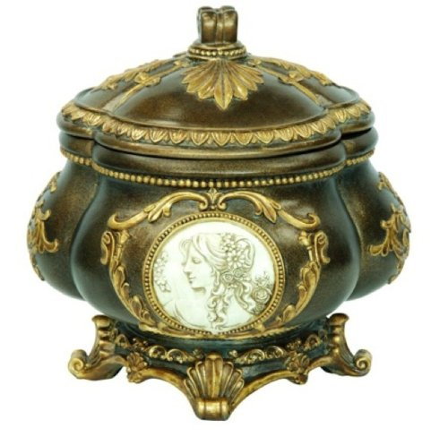 O.R.E Ore International K-4192JX Handcrafted Decorative Jewelry Box, 9-Inch