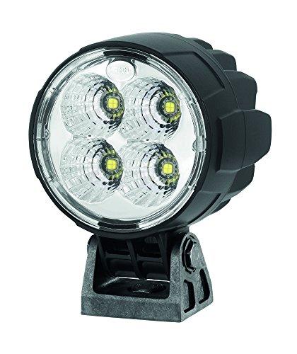Hella 1G0 996 263-051 Arbeitsscheinwerfer - M90 - LED - 12V/24V - geschraubt - stehend - weitreichende Ausleuchtung - Deutsch