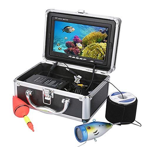 XINTONGSPP Buscador de Peces bajo el Agua, HD 7'TFT 1000TVL Kit de videocámaras de Pesca bajo el Agua, WiFi Wireless admite grabación de Video y Tome la Foto,50m
