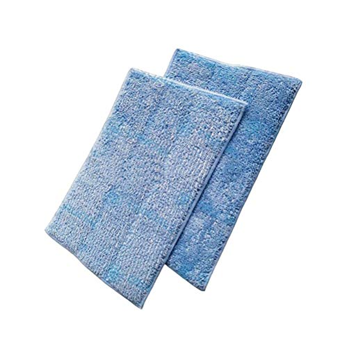 ZAITOE 2 Pack Washable Steam Mop Pads for Euroflex Monster EZ1