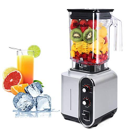 Licuadora de 1,5 l, exprimidor de frutas y verduras, 24000 rpm para batidos y exprimidor de cítricos, licuadora lenta, exprimidor profesional de verduras y frutas, 220 V, 2200 W