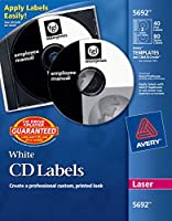 LABEL,LSR CD/DVD,40/PK,WH