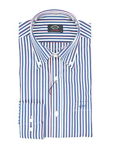 PAUL & SHARK Hemd, Casual, Regular, Mehrfarbig 34