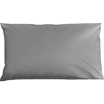 Brooklinen Smoke Luxe Pillowcases - Set of 2 - 100% Long Staple Cotton with Envelope Closure - Standard Size