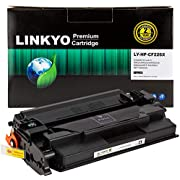 LINKYO Compatible Toner Cartridge Replacement for HP 26X CF226X (Black, High Yield)