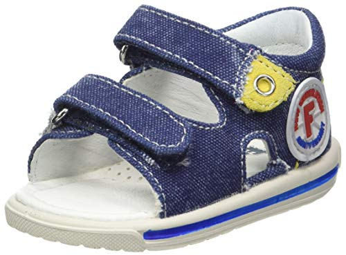 Naturino Unisex Baby Falcotto Nemo Sandalen, Blau (Jeans 0c06), 22 EU