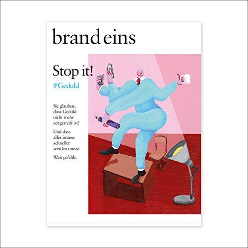 brand eins audio: Geduld  By  cover art