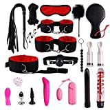 CS-PYY Bundle Binding Set Of 20 Sets Toy Handcuffs Key Police Role-playing Party Supplies Role-playing Clothing Accessories Pretend To Play Children's Handcuffs,Black red Ladies' Beautiful Accessories