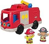 Fisher-Price Pequeña gente, ayudando a otros camiones de bomberos