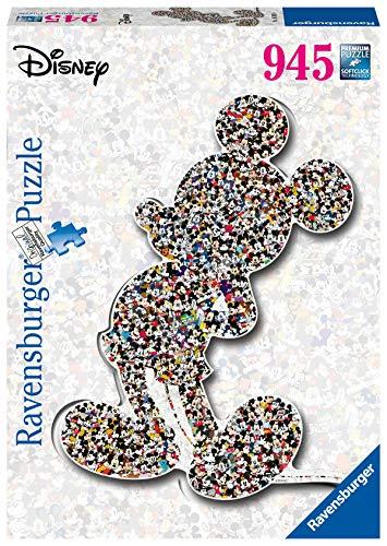 Ravensburger Puzzle con Forma de Mickey, Color Amarillo (16099)