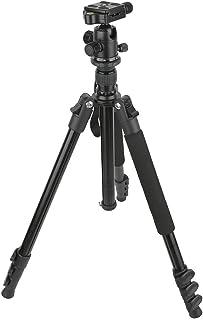 Kafuty-1 Support de trépied d'appareil Photo trépied en Aluminium de Voyage léger Portable avec rotule à 360 degrés pour A...
