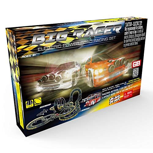 Golden Bright Big Racer Road Racing Set- Electric Powered
