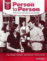 Person to Person 2 Teacher's Book