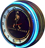 Johnnie Walker 19' Double Neon Clock