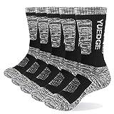 5 Paar Herren Baumwolle atmungsaktiv bequem lässig Business warm Dicke Socken Herren Crew Socken...