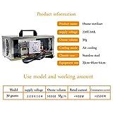 Sweet Home 50G / H Generador De Ozono, Ultravioleta Desinfección Purificador De Aire Máquina De Ozono, 220V Multifuncional Portátil Ionizadores De Aire Desodorizante con Interruptor De Tiempo