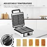 Zoom IMG-1 piastra per waffle temperatura regolabile