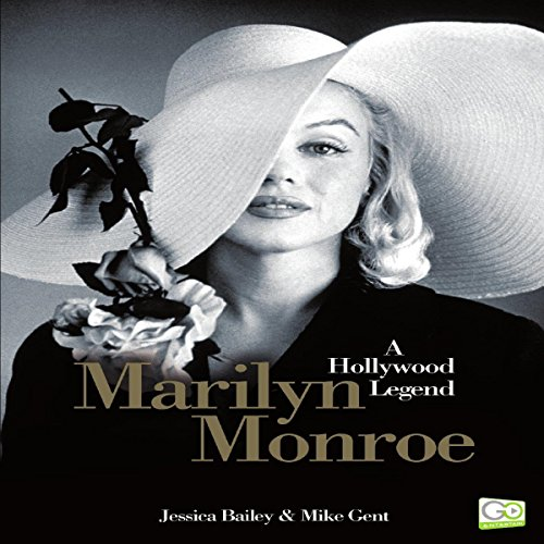 Marilyn Monroe: A Hollywood Legend audiobook cover art