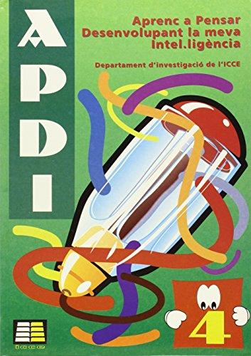 Aprenc a pensar desenvolupant la vema intel·igéncia (APDI-4) (Apdi (catalan))