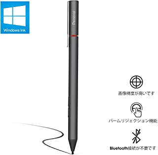 Penoval Surfaceペン マイクロソフト認証 高感度パームリジェクション機能Surface Pro3/4/5/6/Go/Laptop等