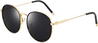 Polarized UV Protection Gold Sunglasses for Women Classic...