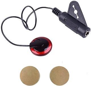 Imelod Contact Microphone Piezo Pickup Violin Microphone Pickup Cello Banjo Ukulele Mandolin Guitar Microphone Pickup