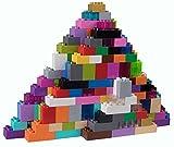 Strictly Briks - Set n.° 2 de Ladrillos Big Briks para Construir - 108 Piezas - Compatible con Todas Las Grandes Marcas - Tacos Grandes - Multicolor