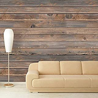 wall26 Large Wall Mural - Seamless Wood Pattern | Self-Adhesive Vinyl Wallpaper/Removable Modern Decorating Wall Art - 100