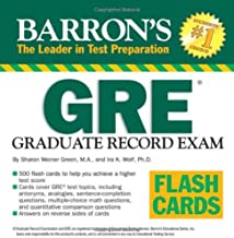 Barron's GRE Flash Cards: Graduate Record Exam