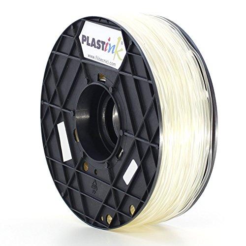 Plastink ABS300NL1 Filamento per Stampante 3D in ABS, Diametro 3 mm, Naturale