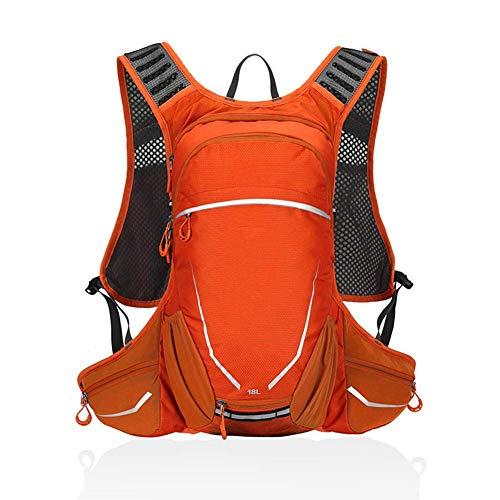 LQSJB Fietsen Rugzak Mannelijke 18L Liter Ademend Lichtgewicht Voor Outdoor Sport Reizen Bergbeklimmen Outdoor Rugzak Vrouwelijke Wandelen Mountainbike Tas Unisex