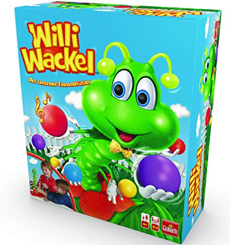 Goliath - Willi Wackel - lustiges Aktionsspiel - tanzender Tausendfüßler als Geschicklichkeits-Spiel - ab 4 Jahren