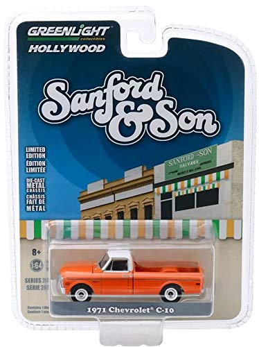 Greenlight 44860-A Hollywood Series 26 - Sanford and Son 1971 Chevrolet C-10 Escala 1/64