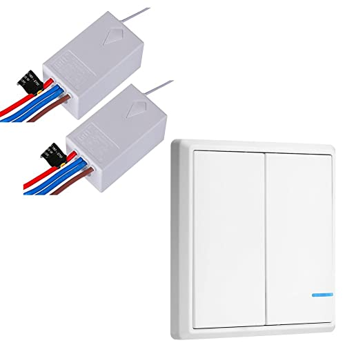 Pleasant Wireless Wall Switches Amazon Com Wiring Cloud Staixuggs Outletorg
