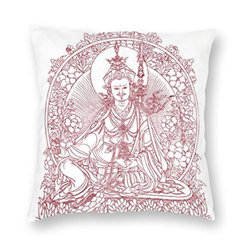 Tappetino Buddha Plush Fabric Pillowcase Double-Sided Printing Family Personalized Pillowcases Hot Decorative Throw Pillow Covers Cases Square 18x18 Inches