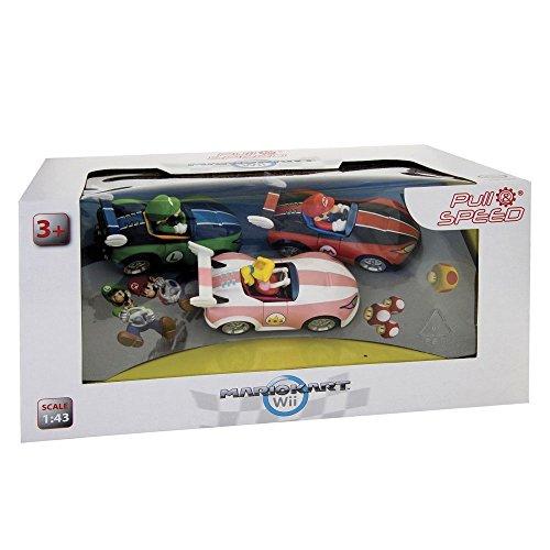 Pull and Speed - 158 13001 - Radio Commande Véhicule Miniature - Nintendo WII 3 Pack