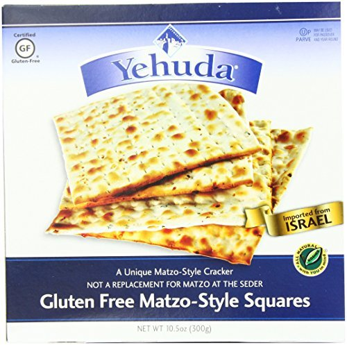 Yehuda Matzo Style Squares, Gluten Free, 10.5000-ounces (Pack of 3)