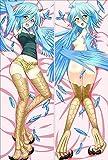 Monster Musume no Iru Nichijou Papi Anime Body Pillow Girl Waifu Pillow case(150,Peach Skin)