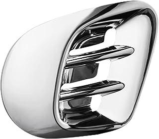 TRUSTTWO Auto Achter Air Outlet Protection Frame ABS 3D Luchtuitlaat Decoratieve omslag geschikt voor Smart Fortwo 453 Aut...