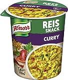 Knorr Reis Snack (ideal für zwischendurch Curry vegetarisch) 8 x 96 g