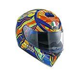 AGV K-3 SV Top 5 Continentes - Casco, Multicolor, XL- 62 cm