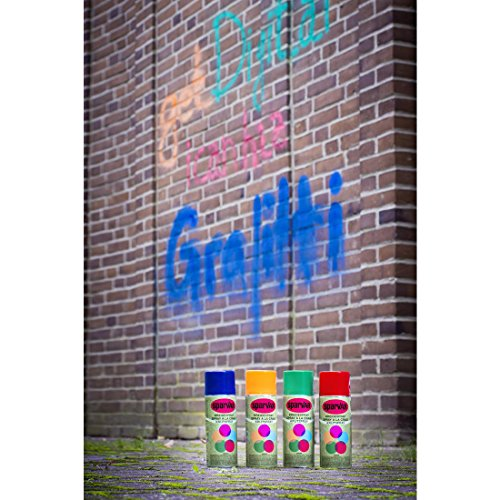 Graffiti Kreide-Spray : Orange
