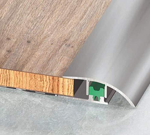Profilo di Adattamento in Alluminio - Asta da 270 cm - Pavimento Laminato