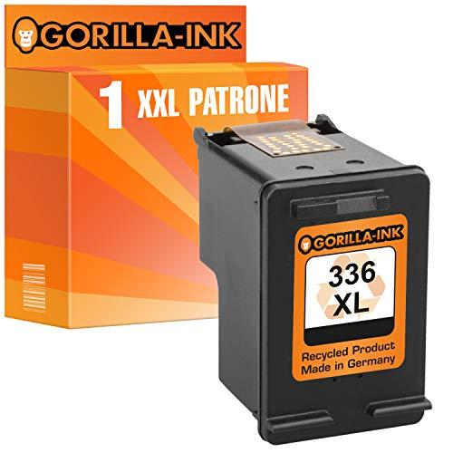 Gorilla-Ink 1 Druckerpatrone kompatibel zu HP-336XL | Black 15ml Inhalt