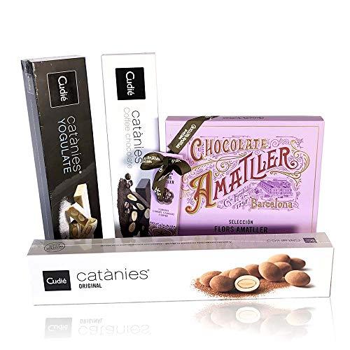 PACK CHOCOLATES CUDIÉ & AMATLLER (x4)