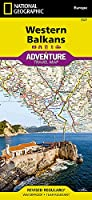 National Geographic Map 2018 Western Balkans (National Geographic Adventure Map)