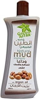 Green Star Natural Mud Shampoo With Argan Oil 400 ml